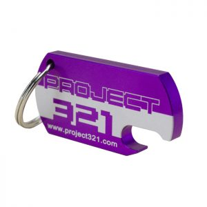 Anodized Project321 Keychain
